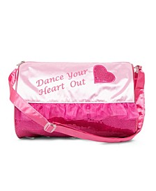 Girls Heart Barrel Bag