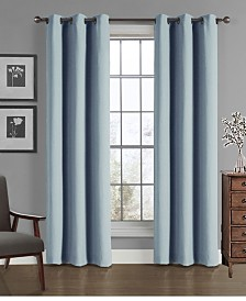 """Universal Home Fashions Solid Crushed Microfiber Panel, 40"""" x 84"""""""