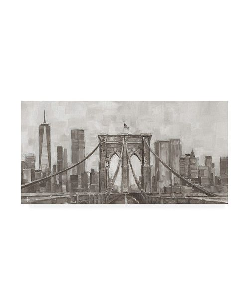 "Trademark Global Ethan Harper New York Panoramic Canvas Art - 36.5"" x 48"""