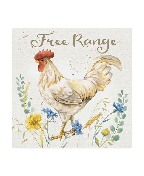 "Trademark Global Jane Maday Nostalgic Farm III Canvas Art - 15.5"" x 21"""