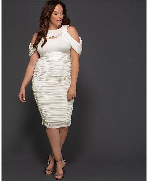 Kiyonna Women\'s Plus Size Melissa Midi Dress & Reviews ...