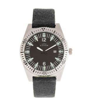 Men's Jeppesen Genuine Leather Strap Watch 42mm