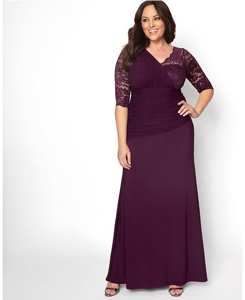 Women S Plus Size Soiree Evening Gown