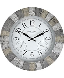 Stoneybrook Outdoor Clock