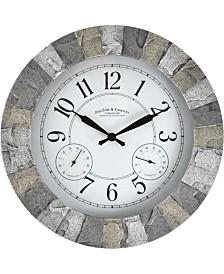 FirsTime & Co.® Stoneybrook Outdoor Clock
