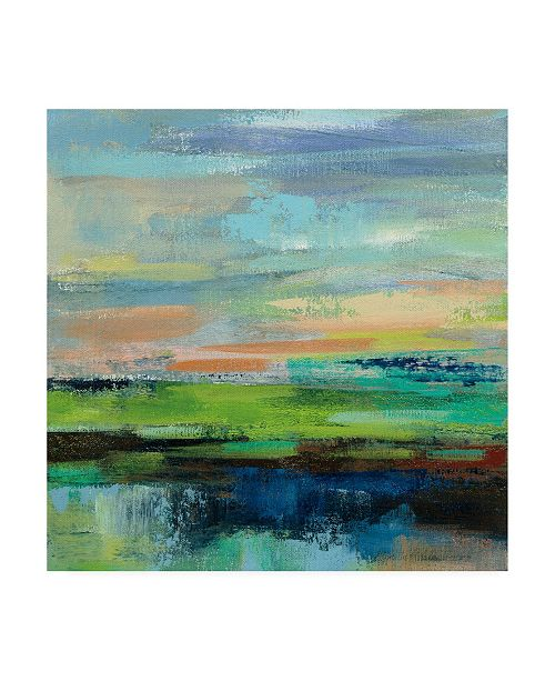 "Trademark Global Silvia Vassileva Delmar Sunset II Canvas Art - 19.5"" x 26"""
