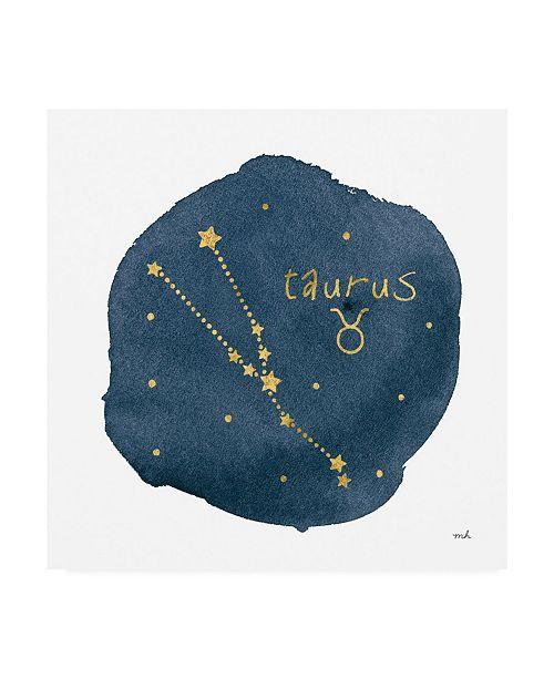 """Trademark Global Moira Hershey Horoscope Taurus Canvas Art - 36.5"""" x 48"""""""