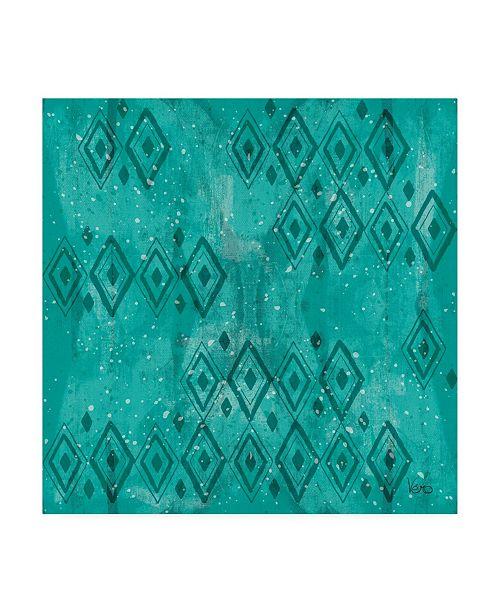 "Trademark Global Veronique Charron Merry Making Pattern VIB Canvas Art - 15.5"" x 21"""
