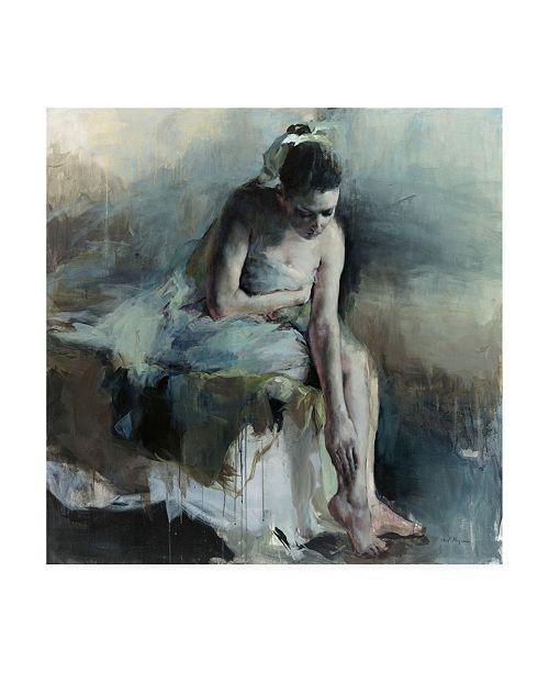 "Trademark Global Marilyn Hageman The Answer Original Canvas Art - 15.5"" x 21"""