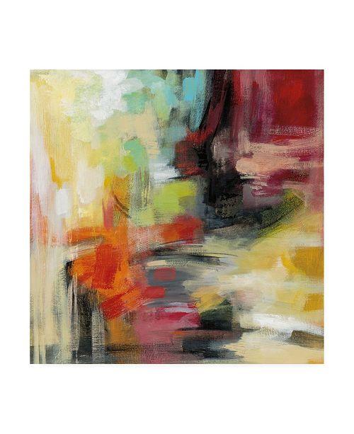 "Trademark Global Silvia Vassileva Kyoto Summer Canvas Art - 19.5"" x 26"""