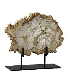 Cyan Design Petrified Wood Slice on Stand