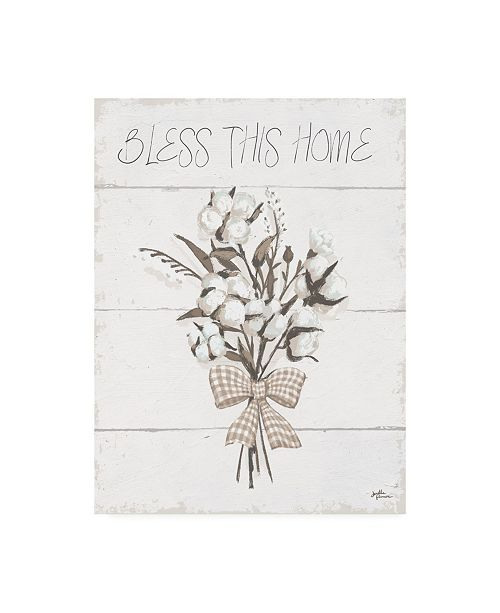 """Trademark Global Janelle Penner Blessed II Neutral Canvas Art - 19.5"""" x 26"""""""