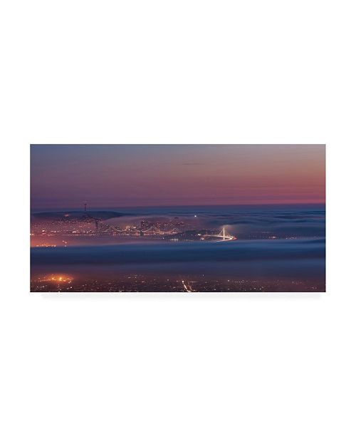 "Trademark Global Bruce Gett Grizzly Beacon Canvas Art - 19.5"" x 26"""