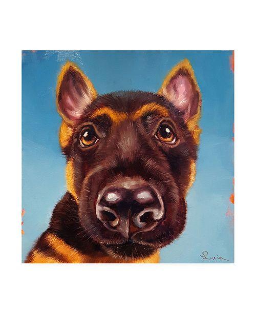 """Trademark Global Lucia Hefferna Follow Your Nose 1 Canvas Art - 36.5"""" x 48"""""""