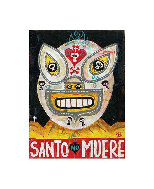"Trademark Global Jorge R. Gutierre Santo Canvas Art - 27"" x 33.5"""