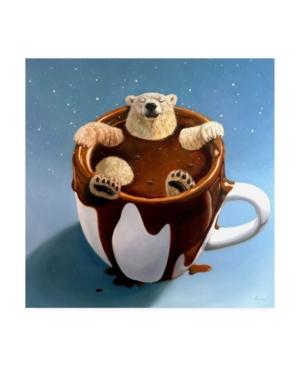"Lucia Hefferna Chocolate Spa Canvas Art - 36.5"" x 48"""