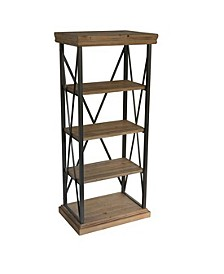 Bevyn 4-Tier Shelf, Quick Ship