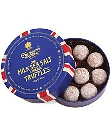 Sea Salt Milk Chocolate Truffles