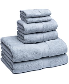 Cassadecor Turkish Cotton Solid 6-Pc. Towel Set