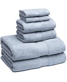 Cassadecor Turkish Cotton Solid 6-Pc. Towel Set