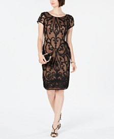 Connected Soutache Illusion Dress