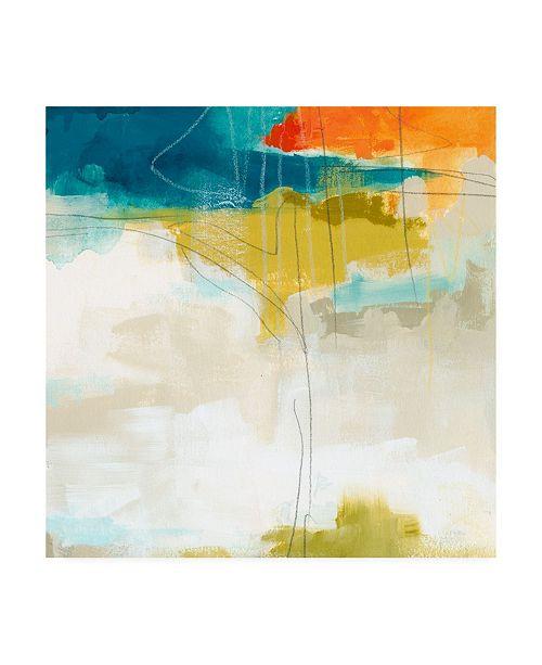 """Trademark Global June Erica Vess Atmospheric II Canvas Art - 27"""" x 33"""""""