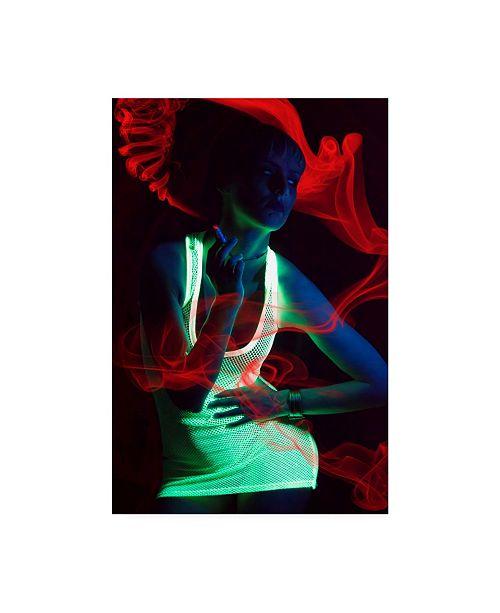 "Trademark Global Vojislav Markovic Glow Dress Canvas Art - 37"" x 49"""