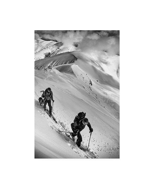 "Trademark Global Matej Rumansky Ski Mountaineering Canvas Art - 20"" x 25"""