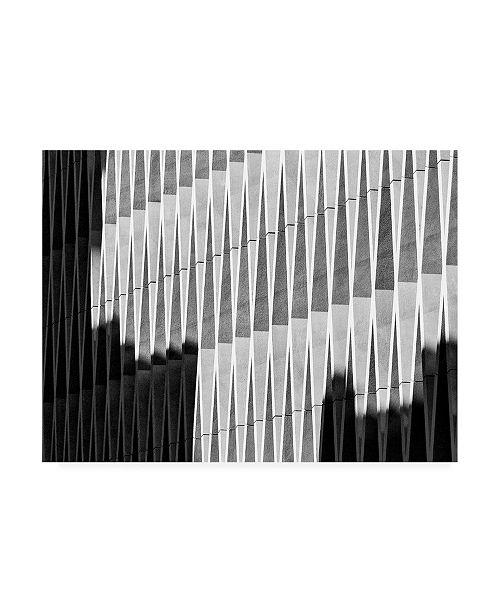 """Trademark Global Jef Van Den Shadow Lines Canvas Art - 37"""" x 49"""""""