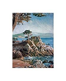 """David Lloyd Glover Cypress Point Monterey Canvas Art - 20"""" x 25"""""""