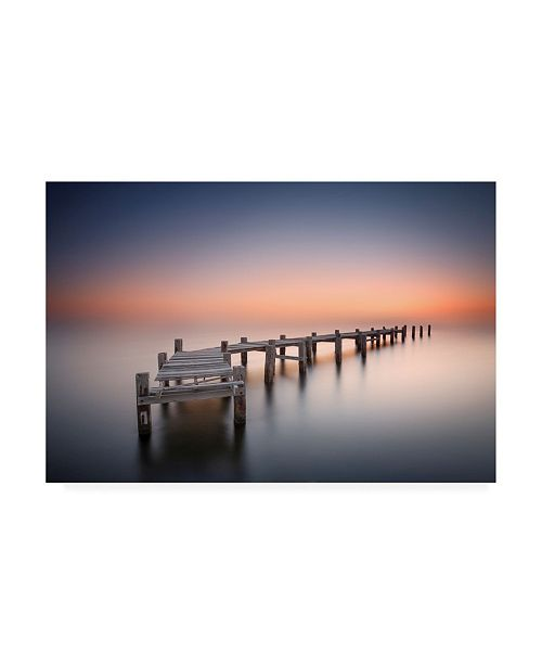 "Trademark Global Jose Beut Old Pier II Canvas Art - 15"" x 20"""