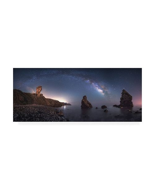 "Trademark Global Juan Facal Photography Sea of Galaxies Canvas Art - 20"" x 25"""