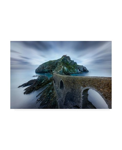"Trademark Global Jesus M Garcia Games of Thrones Dragonstone Island Canvas Art - 20"" x 25"""