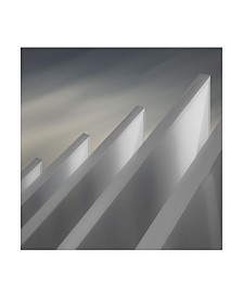 "Gilbert Claes Winged Walls Canvas Art - 20"" x 25"""