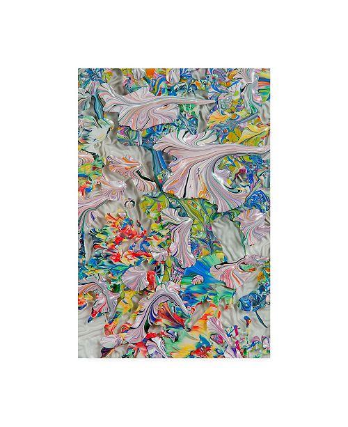 "Trademark Global Mark Lovejoy Abstract Splatters Lovejoy 26 Canvas Art - 20"" x 25"""