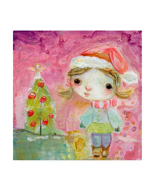 """Trademark Global Mindy Lacefield Magical Tree Portrait Canvas Art - 27"""" x 33"""""""