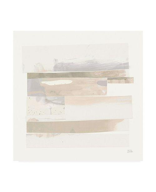 "Trademark Global Melissa Averinos Stacks III Neutral Canvas Art - 20"" x 25"""