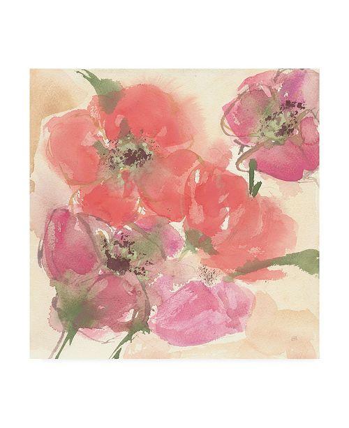 "Trademark Global Chris Paschke Coral Blooms I Canvas Art - 15"" x 20"""