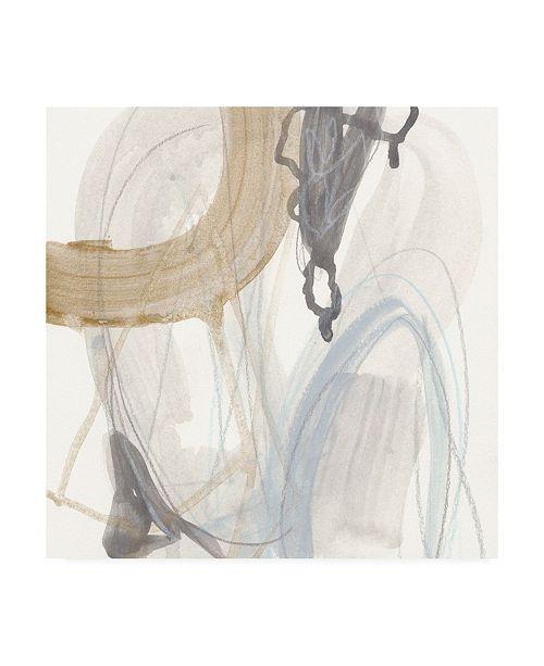 "Trademark Global June Erica Vess Inference I Canvas Art - 27"" x 33"""