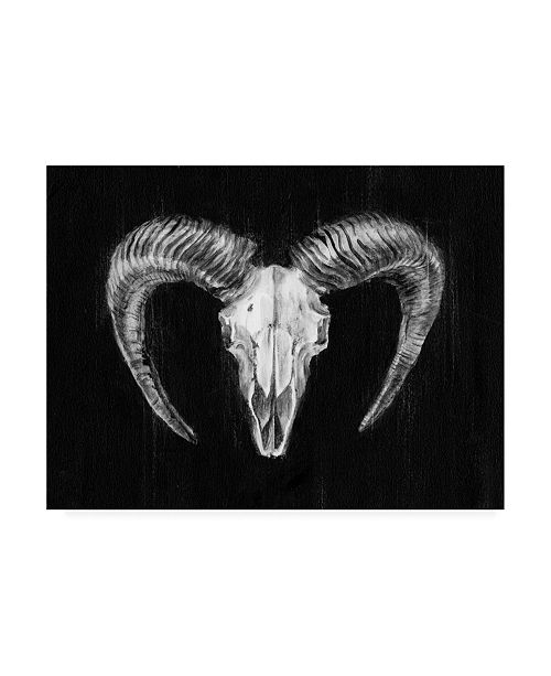 "Trademark Global Ethan Harper Rustic Ram Mount II Canvas Art - 37"" x 49"""