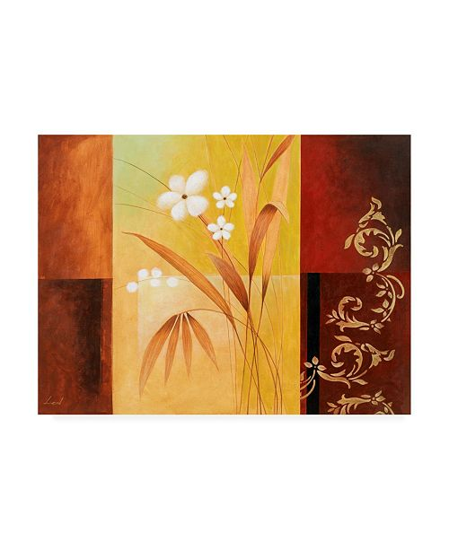 "Trademark Global Pablo Esteban White on Panels 2 Canvas Art - 36.5"" x 48"""