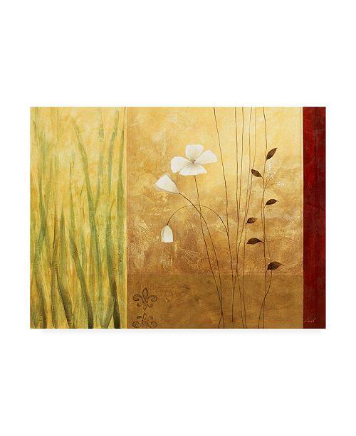 "Trademark Global Pablo Esteban White on Panels 5 Canvas Art - 19.5"" x 26"""