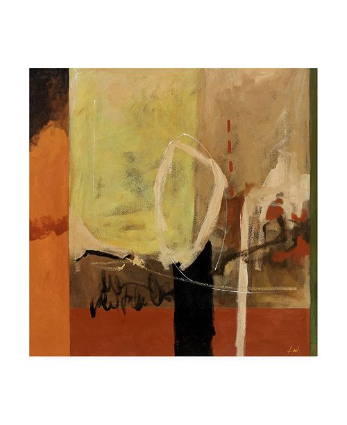 "Trademark Global Pablo Esteban Tuscan Industrial Paint 1 Canvas Art - 36.5"" x 48"""