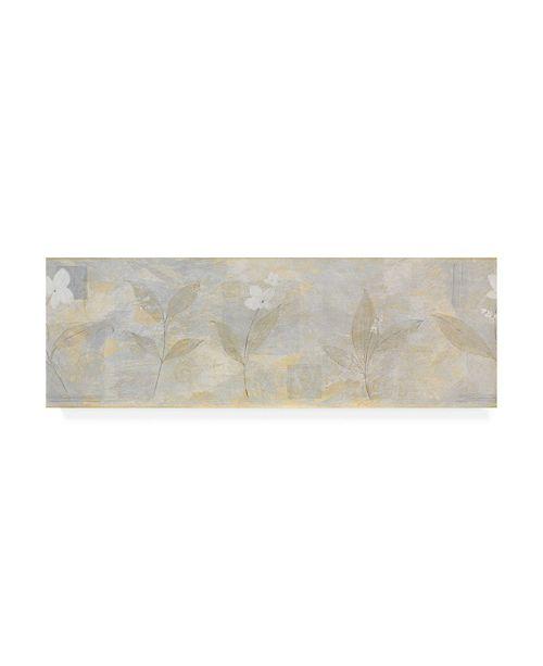 "Trademark Global Pablo Esteban White Abstract Canvas Art - 19.5"" x 26"""
