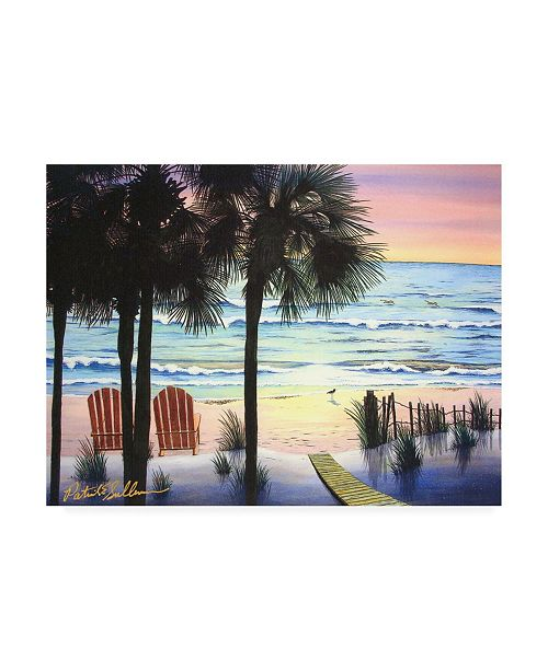 "Trademark Global Patrick Sullivan Morning Walk 2 Canvas Art - 15.5"" x 21"""