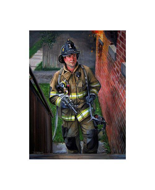 """Trademark Global Paul Walsh Lieutenant Canvas Art - 15.5"""" x 21"""""""
