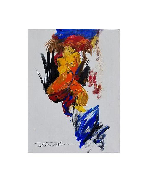 "Trademark Global Tadeo Zavaleta Nude Study Canvas Art - 27"" x 33.5"""