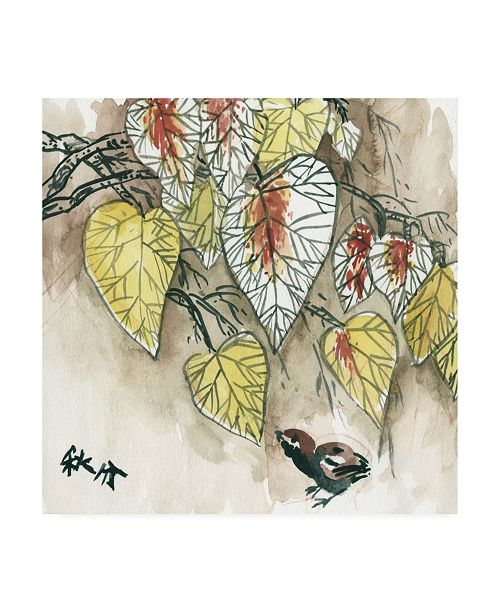 "Trademark Global Melissa Wang Autumnal I Canvas Art - 15.5"" x 21"""