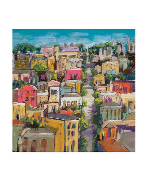 "Trademark Global Jennifer Gardner City Color II Canvas Art - 36.5"" x 48"""