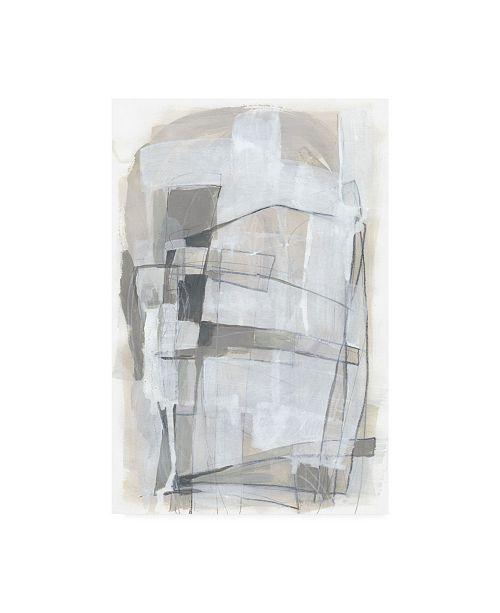 "Trademark Global June Erica Vess Verticality I Canvas Art - 19.5"" x 26"""